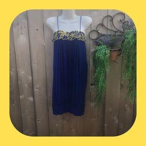 Akiko Bright Blue Dress